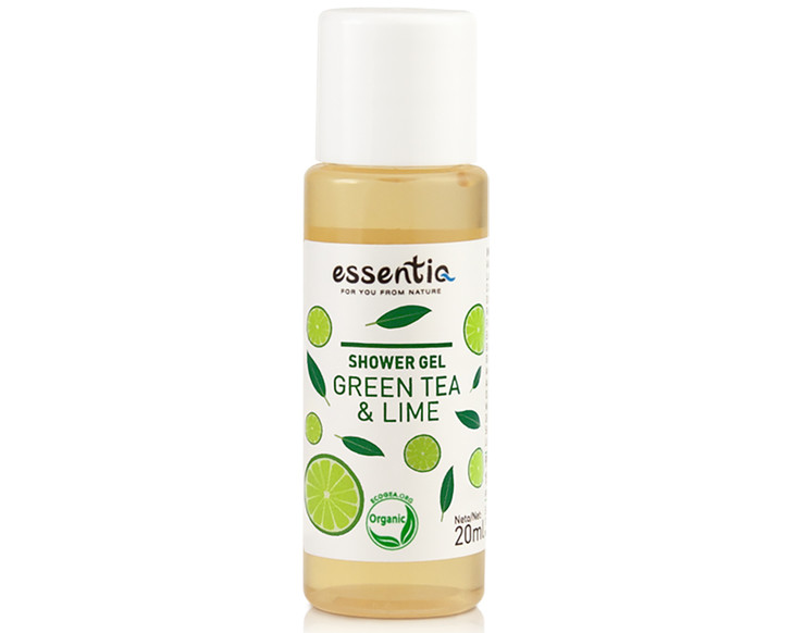 Shower Gel Green Tea and Lime 20ml (mini)