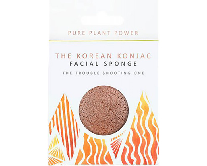 The Elements Fire With Purifying Volcanic Scoria Full Size Facial Sponge
