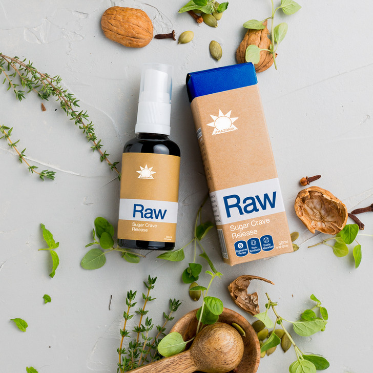 Raw Sugar Crave Release 50ml