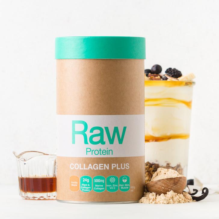Raw Collagen Protein Plus Vanilla Maple 450g