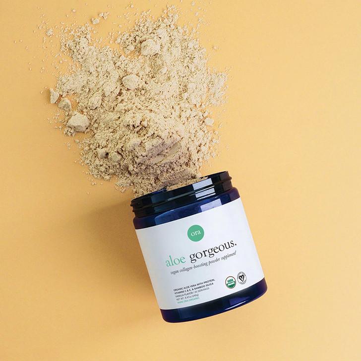 Organic Vegan Collagen-Boosting Powder (Aloe Gorgeous) - Vanilla 240g