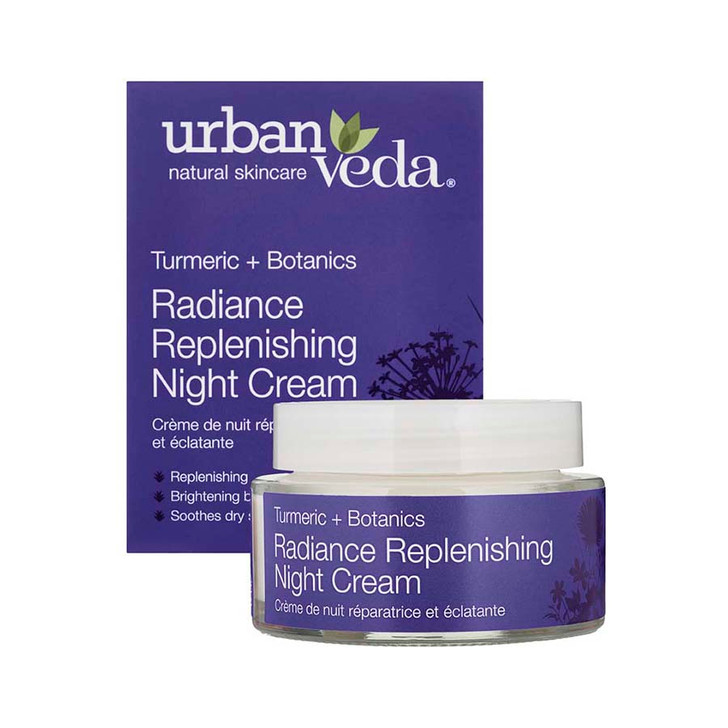 Radiance Replenishing Night Cream - Turmeric + Botanics 50ml
