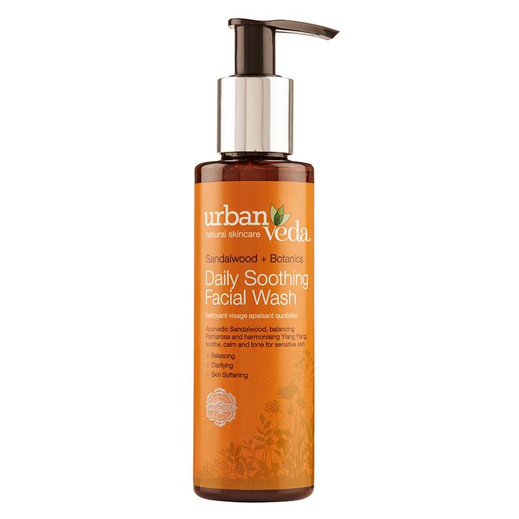 Daily Soothing Facial Wash - Sandalwood + Botanics 150ml