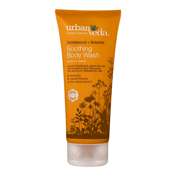 Soothing Body Wash - Sandalwood + Botanics 200ml
