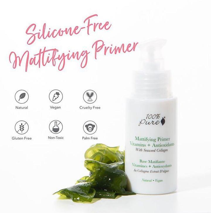 Mattifying Primer Viatmins + Antioxidants With Seaweed Collagen 30ml