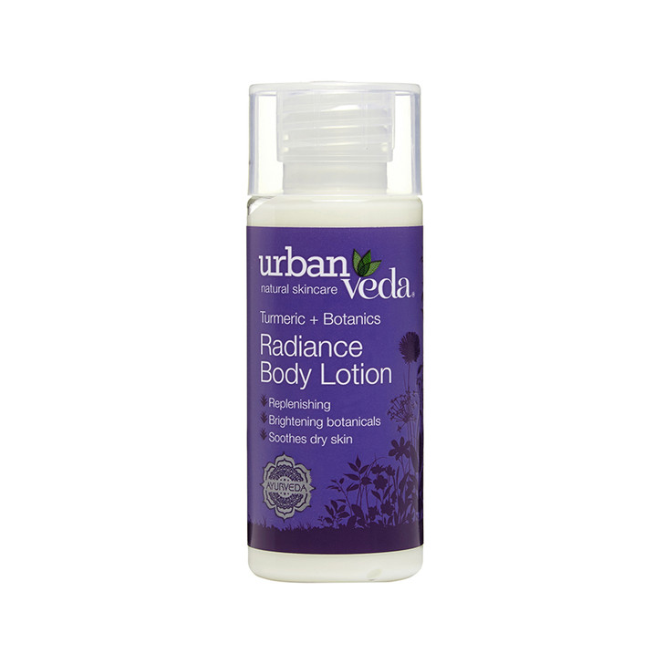 Radiance Body Lotion - Turmeric + Botanics 50ml (Mini)