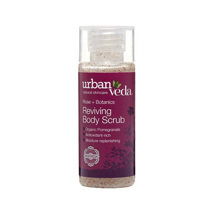 Reviving Body Scrub - Rose + Botanics 50ml (Mini)