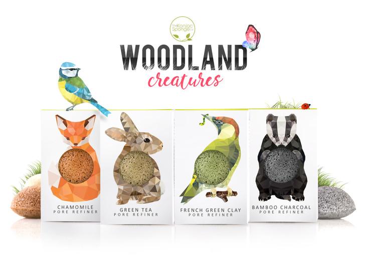 Konjac Mini Pore Refiner Woodland Collection