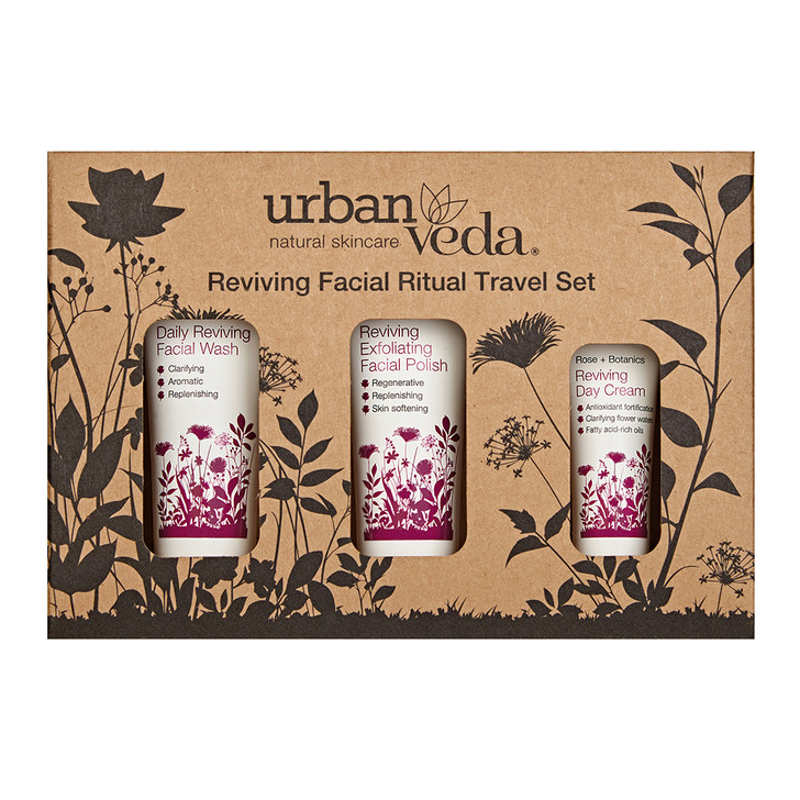 Reviving Facial Ritual Travel Set 50ml