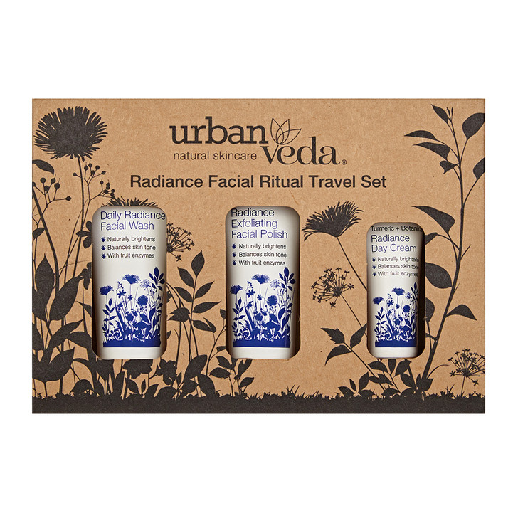 Radiance Facial Ritual Travel Set 50ml