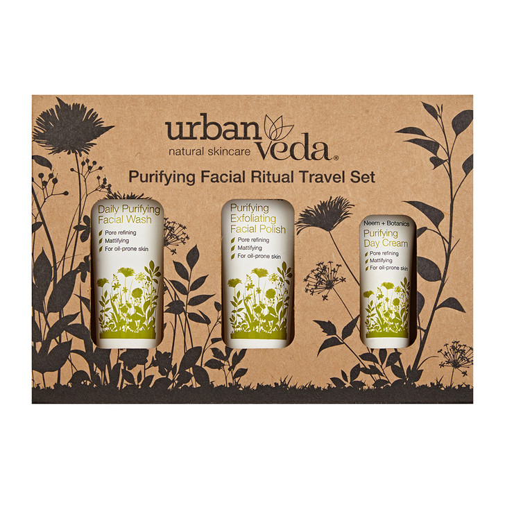 Purifying Facial Ritual Travel Set 50ml