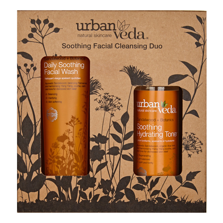 Soothing Facial Cleansing Duo 300ml