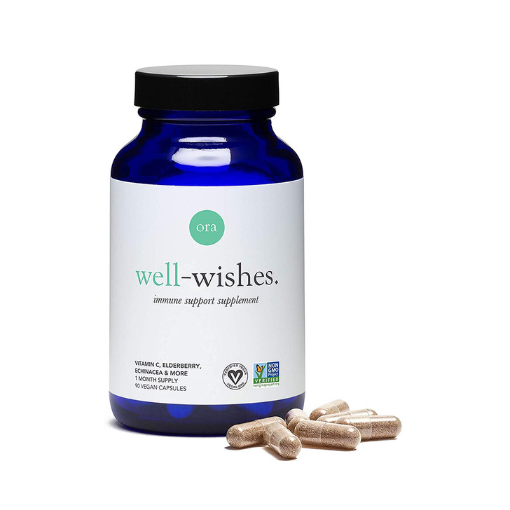 Immune Support Supplement (Well Wishes) 90caps