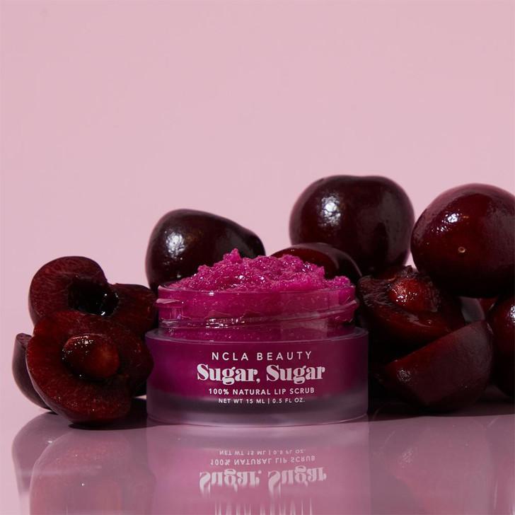 Sugar Sugar Lip Scrub Black Cherry 15ml