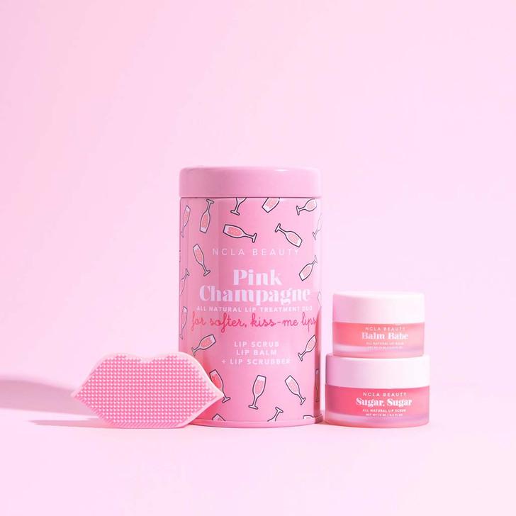 Lip Care Duo + Lip Scrubber Pink Champagne