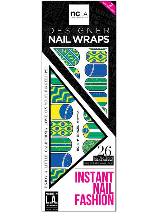 Brazil Nail Wrap
