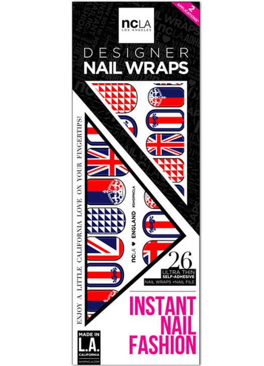 England Nail Wrap