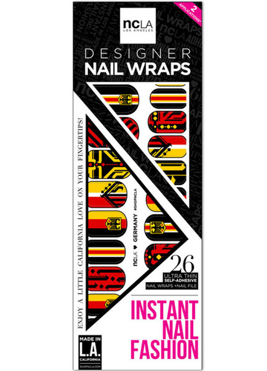 Germany Nail Wrap