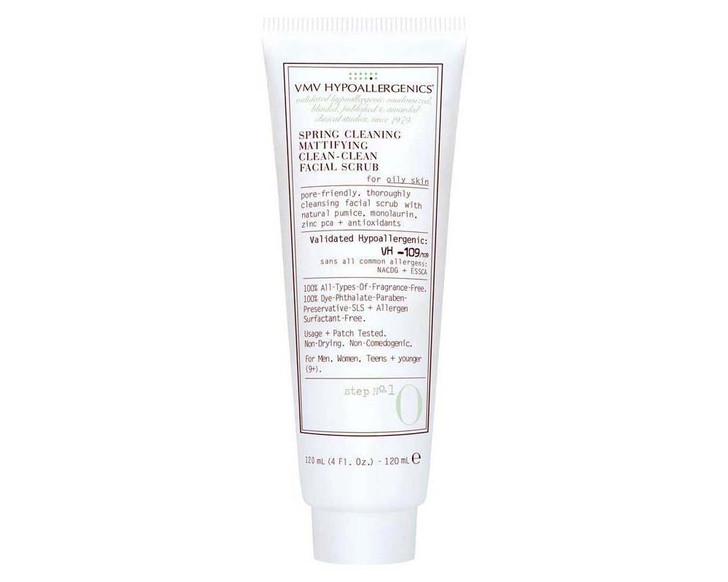 Spring Cleaning Mattifying Clean-Clean Facial Scrub For Oily Skin 120ml