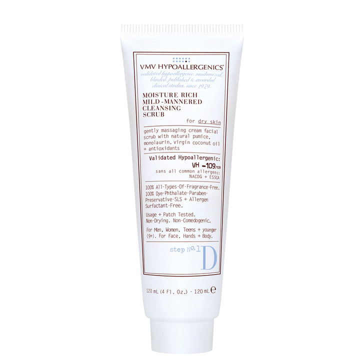 Moisture Rich Mild-Mannered Cleansing Scrub For Dry Skin 120ml