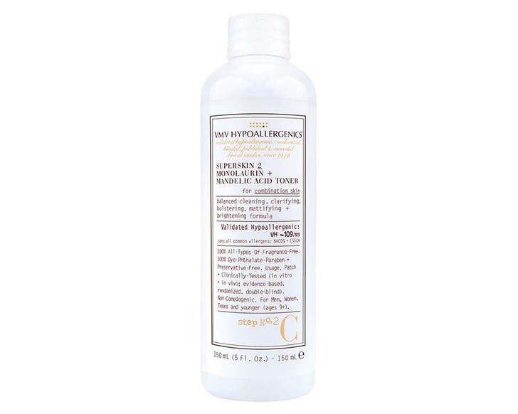SuperSkin 2 Monolaurin + Mandelic Acid Toner For Combination Skin 150ml