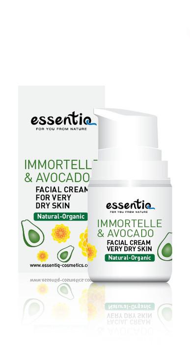 Facial Cream for Extra Dry Skin Imortelle & Avocado 50ml