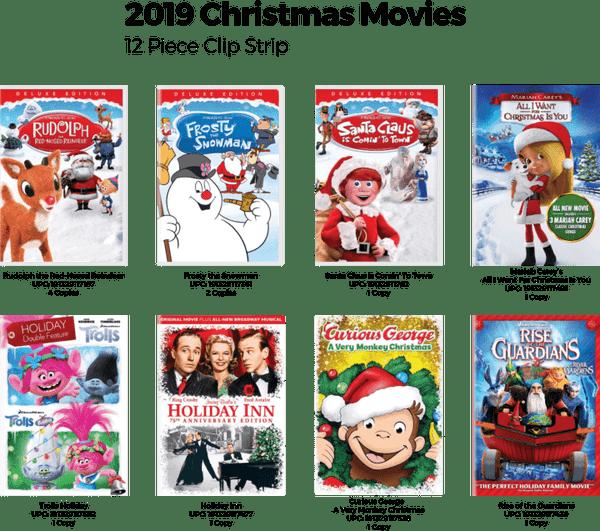 Christmas Movie Clip Strip - 12 pc