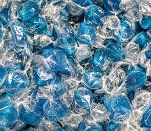 Blue Peppermint Cubes