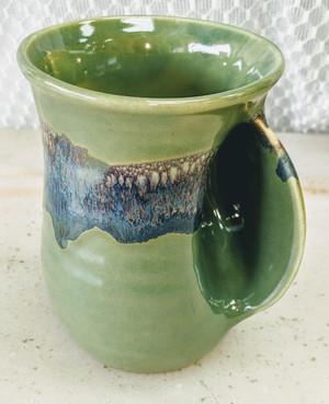 Misty Green Handwarmer Mug