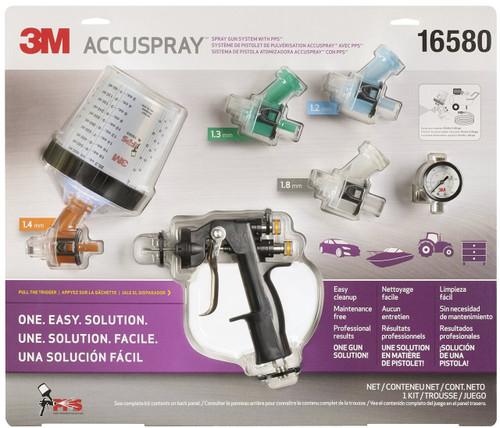 3M 16580 Accuspray Spray Gun kit