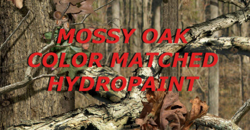 MOSSY OAK COLOR MATCH