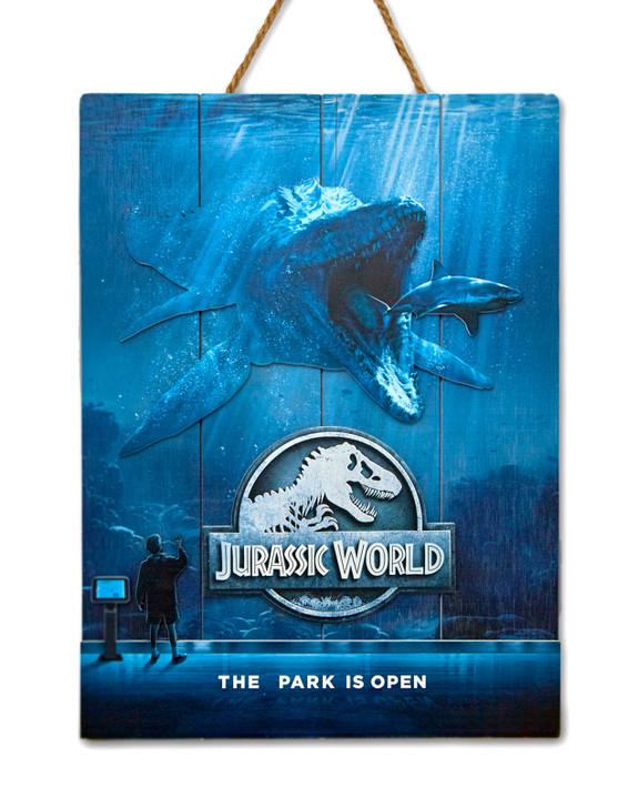 """JURASSIC WORLD  - WOODART 3D """"Mossasaurus"""""""