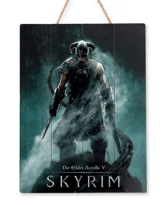 "SKYRIM - WOODART 3D - ""Dragonborn"" - Limited Edition"