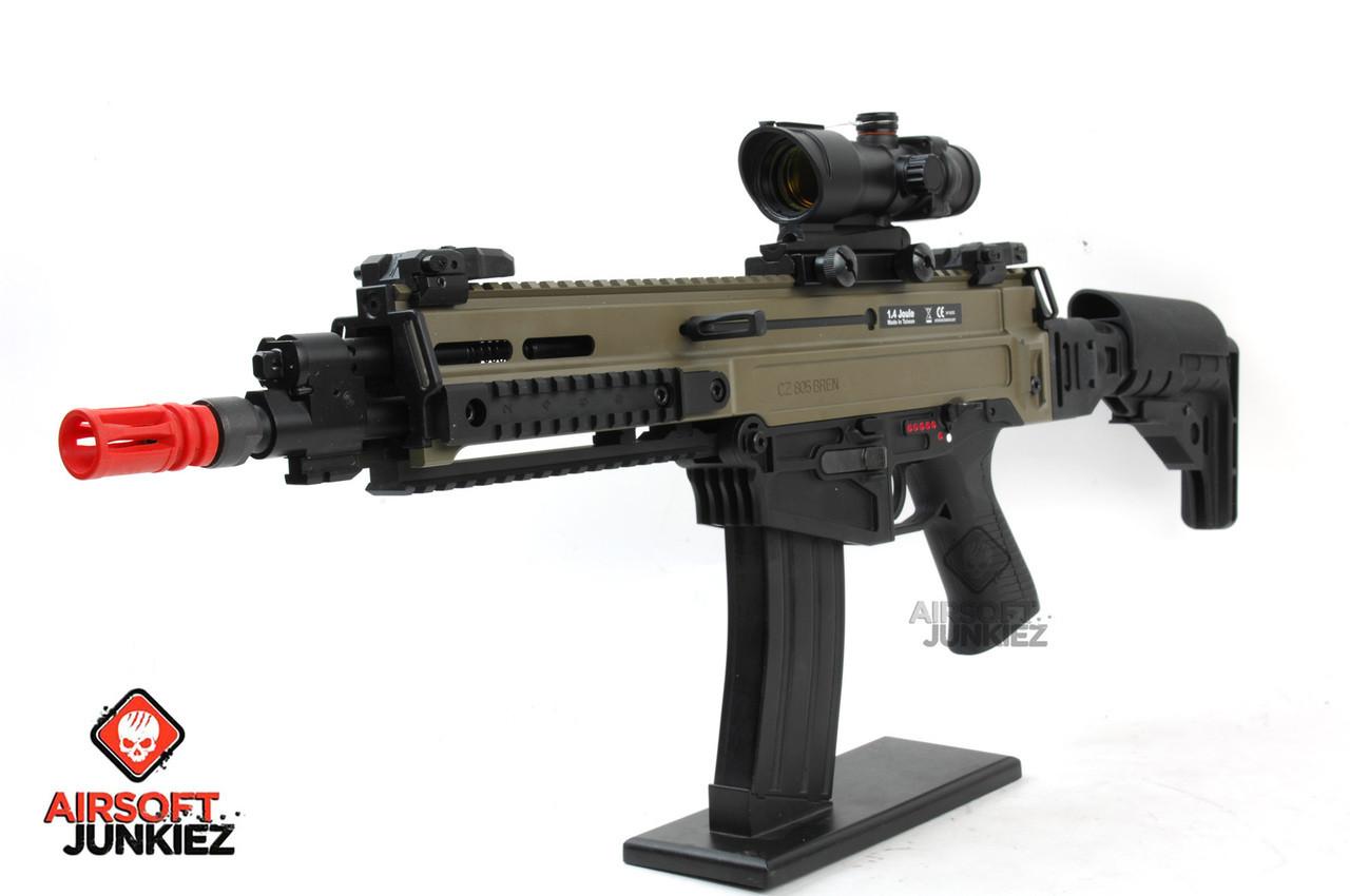 CZ 805 Bren-A1 Carbine Airsoft AEG - Two-Tone Desert