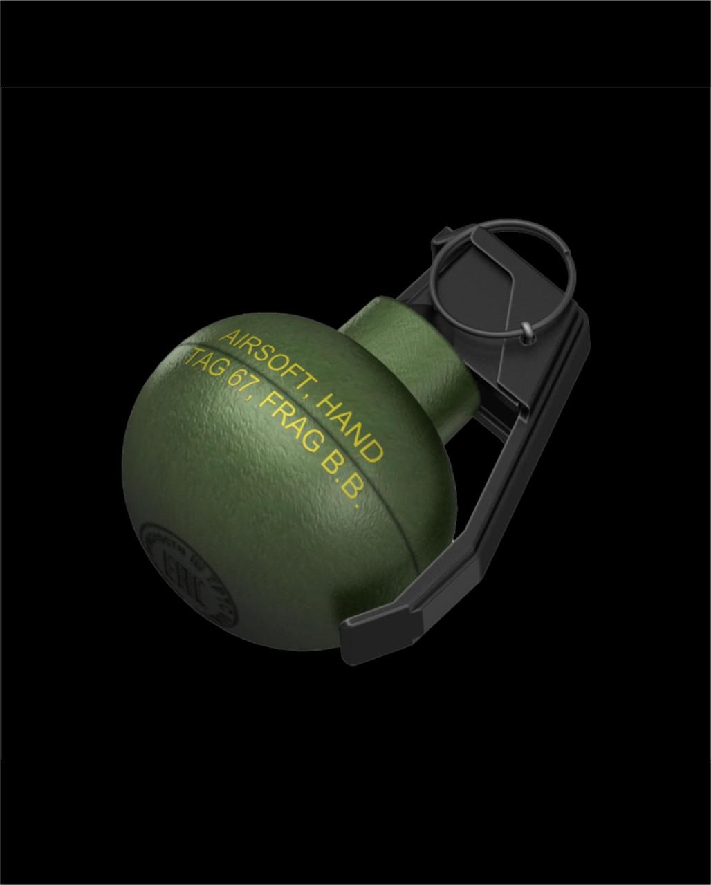 TAG-67 Hand Grenade (6 Pack) (Pickup or Hazmat Shipping)
