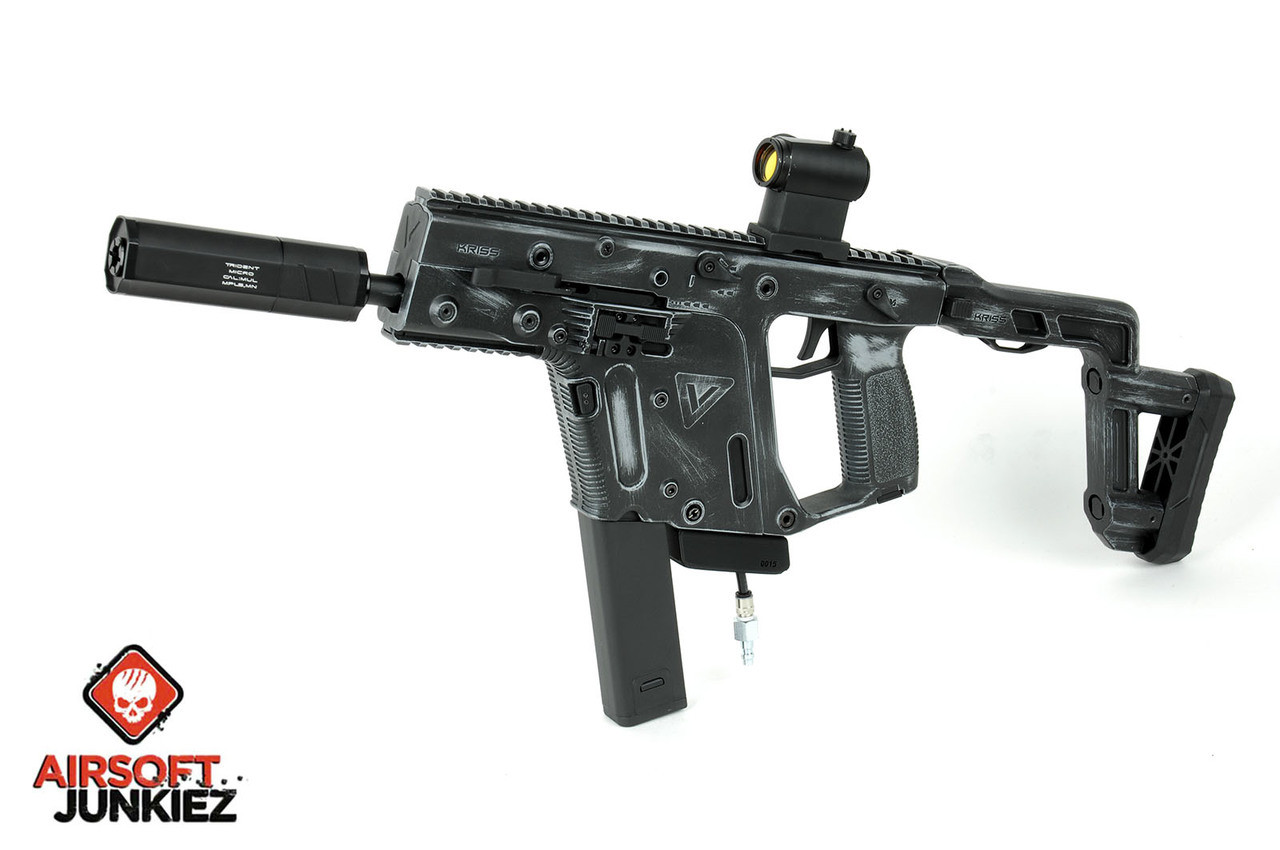Kriss Vector with PolarStar F2 -- Cerkote Worn