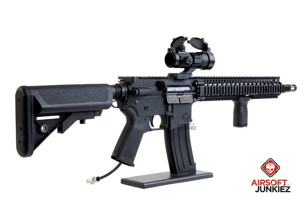 Airsoftjunkiez custom HPA PRO Block 2 - Black