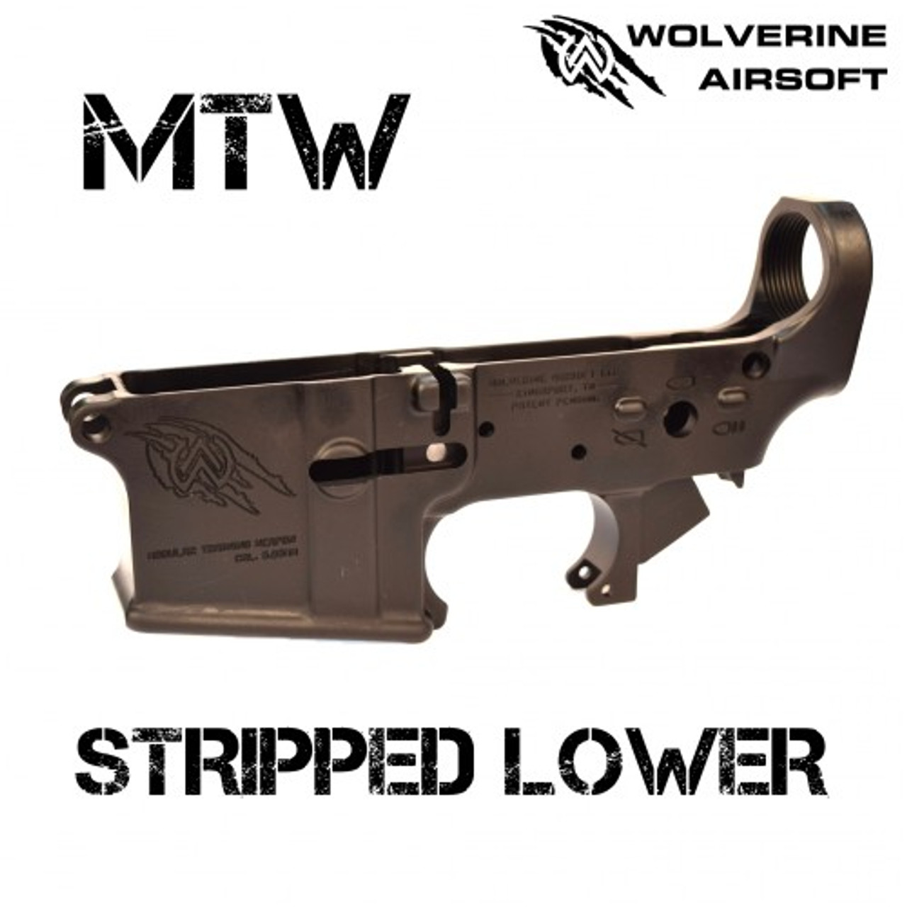 Wolverine Airsoft MTW Stripped Lower Receiver