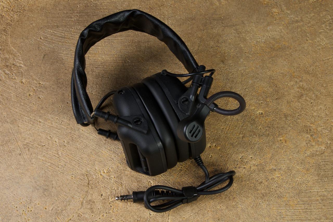 RogerTech EVO409 Electronic Hearing Protection Nexus TP-120 - Tactical Black
