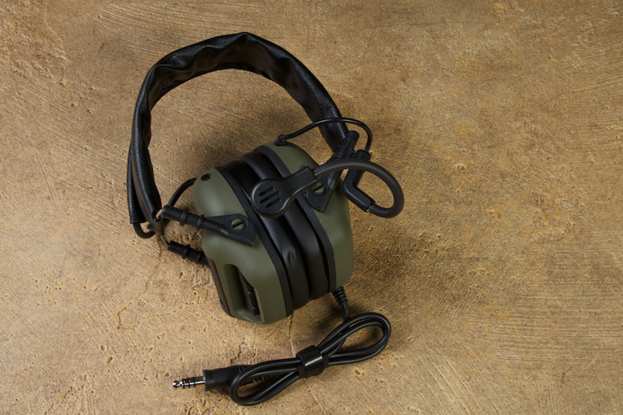 RogerTech EVO409 Electronic Hearing Protection Nexus TP-120 - Olive Drab