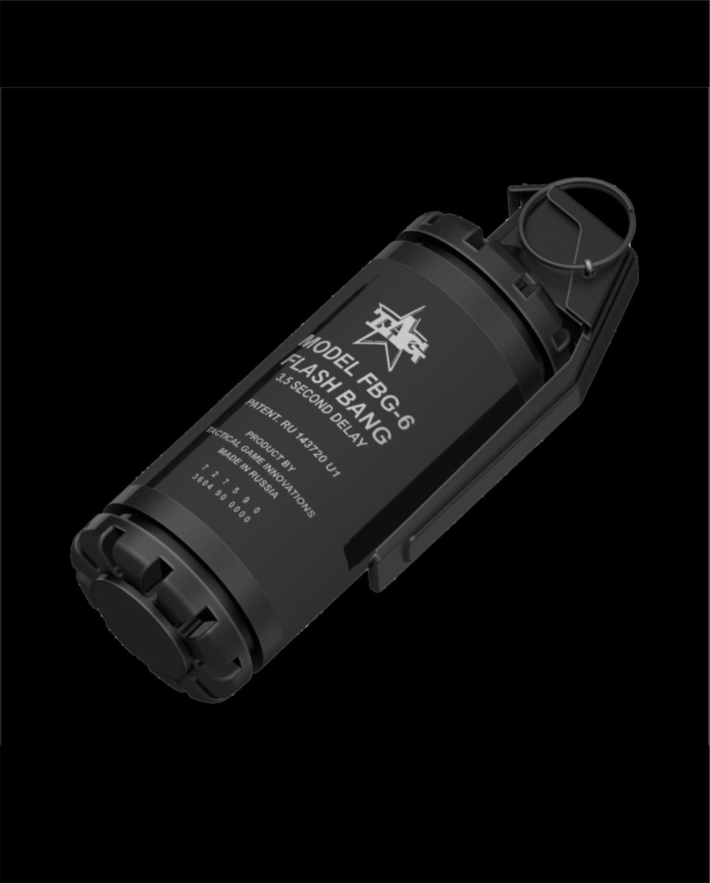 DISCONTINUED Taginn FBG-6 Flash Grenade Pack of 6 -- Hazmat Shipping or Event Pickup