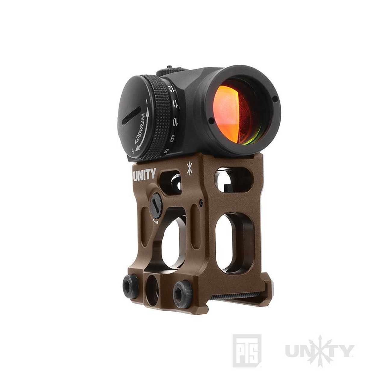 PTS Unity Tactical FAST Micro Mount - FDE