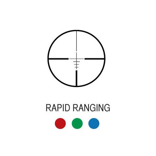 Aim Sports 4X32 TRI-ILLUMINATED SCOPE w/ SINGLE WEAVER RAIL