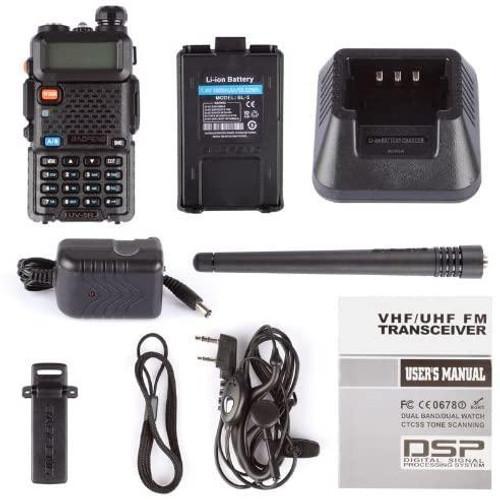 BAOFENG UV-5R Two Way Radio Dual Band 136-174/400-480Mhz Walkie Talkie