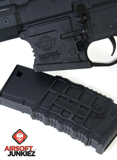 G&G CM16 SR XL Airsoft AEG Rifle (Black)