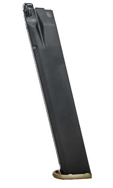 Walther PPQ GBB Extended 45 Rd Gas Magazine