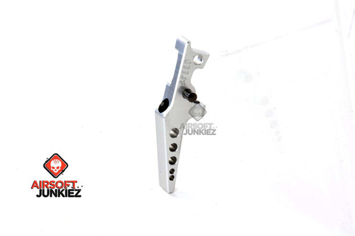 SPEED AIRSOFT HPA M4 FLAT TUNABLE TRIGGER IN SILVER