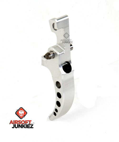 SPEED AIRSOFT HPA M4 Curved TUNABLE TRIGGER IN SILVER II