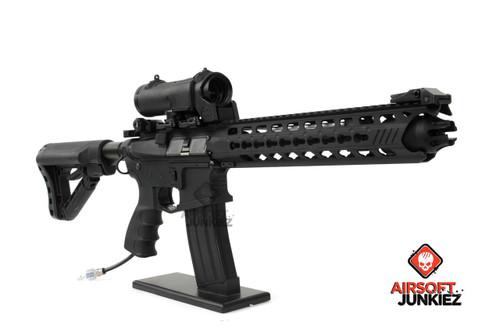 Airsoftjunkiez G&G GC16 Predator HPA package-- Full Metal - Black