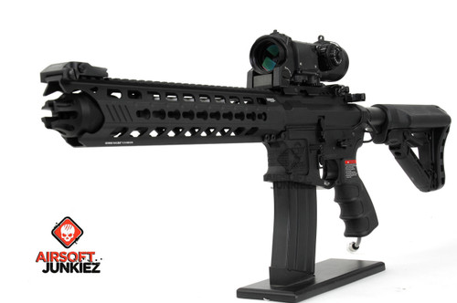 Airsoftjunkiez G&G GC16 Predator HPA package-- Full Metal - Battle Gray